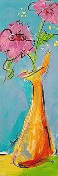 Whimsical Vase by Terri Einer
