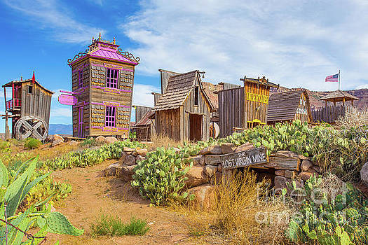 Whimsical Western Town The Lost Virgin Mine by Edward Fielding