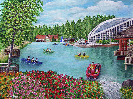 Whinfell Forest Lake - Center Parcs by Ronald Haber