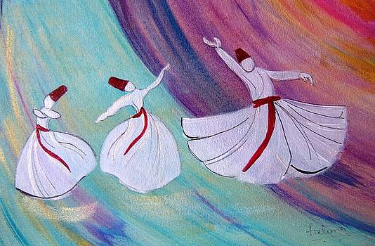 Whirling Dervish by Fatima Pardhan