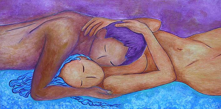 Whispering by Gioia Albano