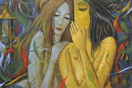 Whispering Mermaids by Glenn Quist