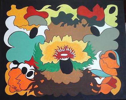 Whispering's of a Flower by Catherine Velardo