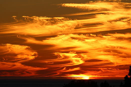 Whispey Sunset by Gary Canant