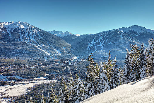 Whistler Blackcomb Mountains in Winter by Pierre Leclerc Photography