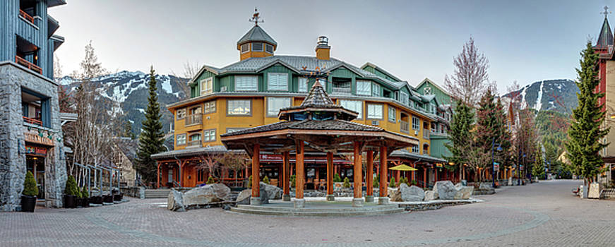 Whistler Village Meeting Place by Pierre Leclerc Photography