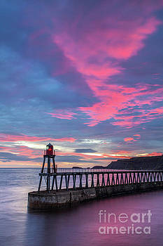 Whitby East Pier by Martin Williams