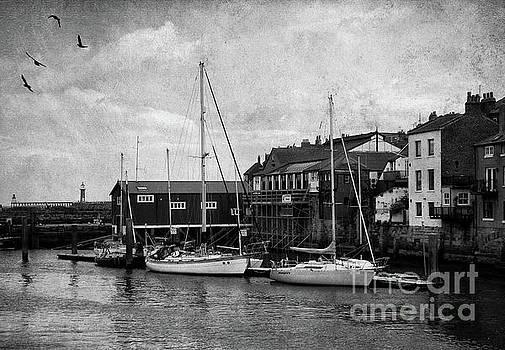 Whitby Harbour by Margaret Hormann Bfa