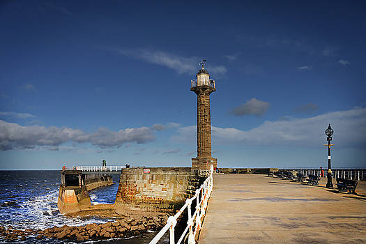 Whitby Lighthouse by Nichola Denny