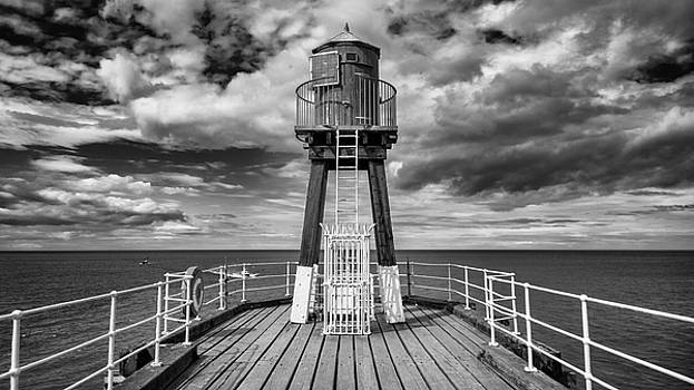 Whitby Pier by Gillian Dernie