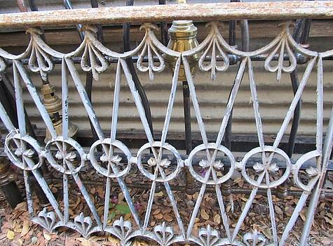 White Antique Metal Grate by Donna Wilson