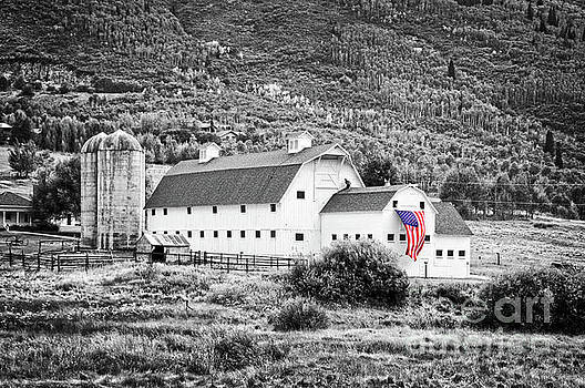 Delphimages Photo Creations - White barn