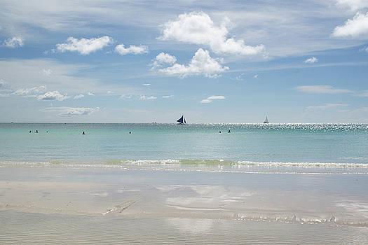 White Beach in full sun by John Janicki
