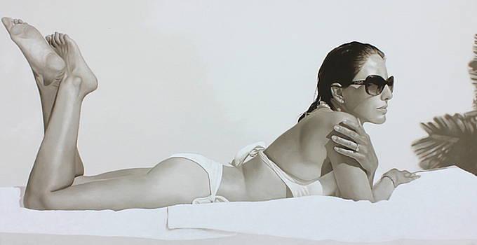 White bikini by Toby Boothman