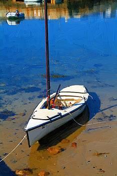 White Boat by John Ellis