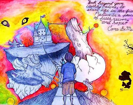 White Brick Road to Paradise by Elliott Danger James