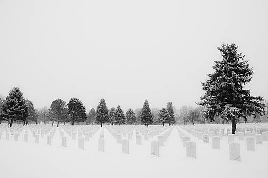 White Cemetery by Jessica Wallace