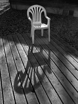 Robert Bissett - White Chair