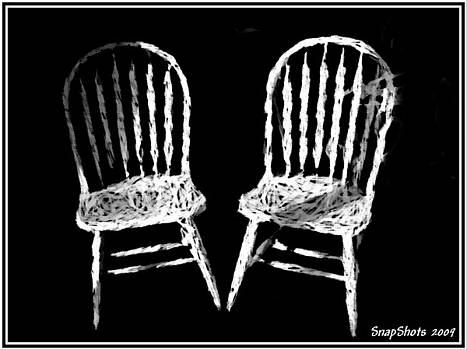Emily Kelley - White Chairs