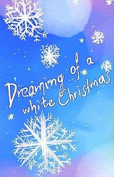 White Christmas  by Persephone Artworks