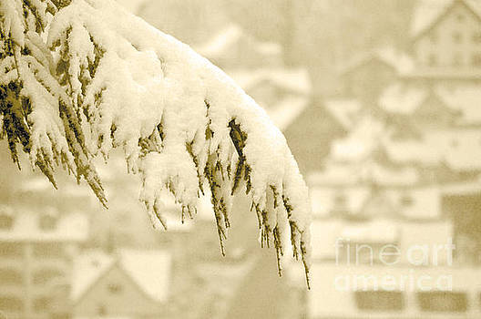 White Christmas - Winter in Switzerland by Susanne Van Hulst