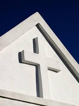 TONY GRIDER - White Cross Blue Sky