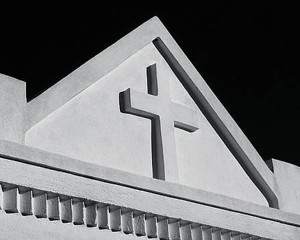 TONY GRIDER - White Cross on Vault