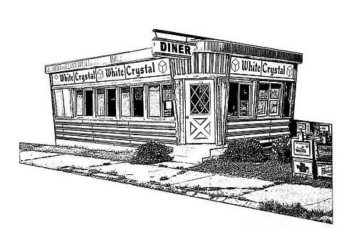 Edward Fielding - White Crystal Diner NJ Sketch