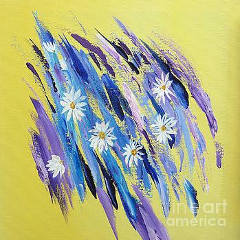 White daisies by Inessa Williams