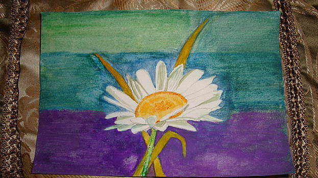 White Daisy by Indhu Frank