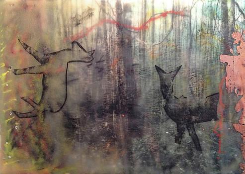 White Deer, 2015 by Damini Celebre