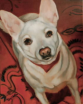 White Dog by Mary Leslie