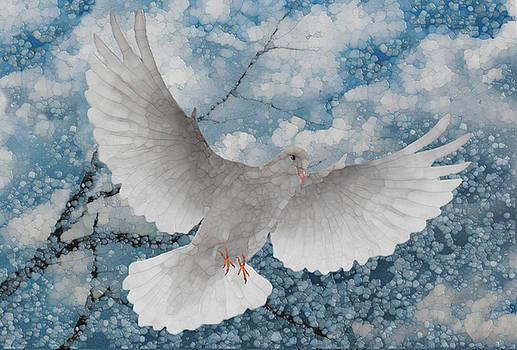 White Dove-Flight Series by Jack Zulli