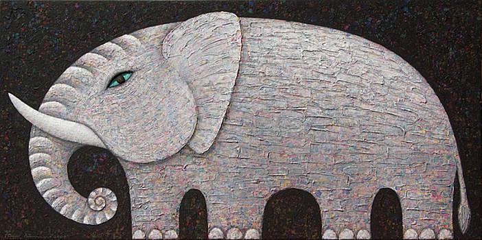 White Elephant by Opas Chotiphantawanon