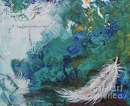 White Feather - 2 by Noelle Rollins