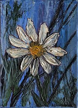 White Flower 1 by Dimitra Papageorgiou