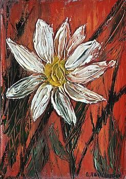 White Flower 2 by Dimitra Papageorgiou