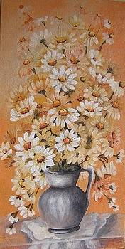 White flowers by Abrudan Mariana