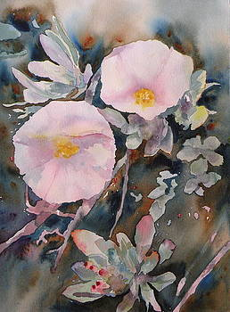 White Flowers by Wendy Hill