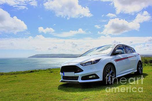 White Focus ST and Scenery by Vicki Spindler