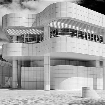 White - Getty Center by James Howe