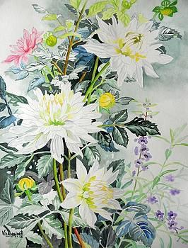White Hibiscus by Vishwajyoti Mohrhoff