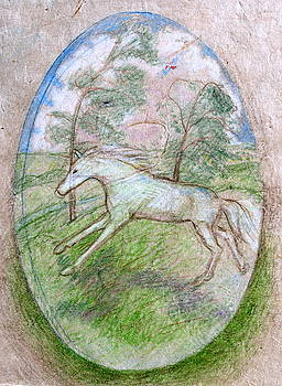 White Horse Dream by Jill Iversen