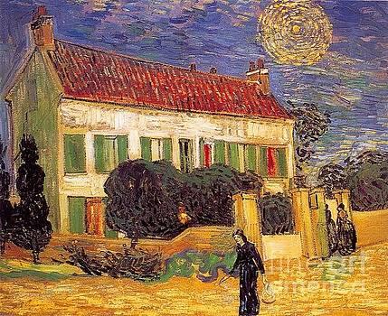 Van Gogh - White House At Night