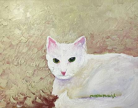 White Kitty by Marita McVeigh