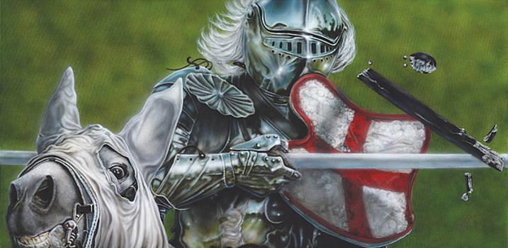 White Knight by Wayne Pruse