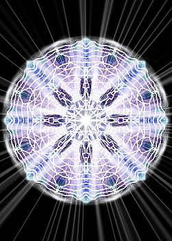 White Light Mandala by Michael African Visions