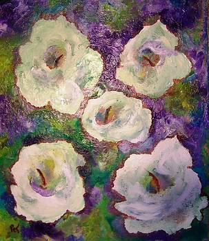Patricia Taylor - White Lily Garden