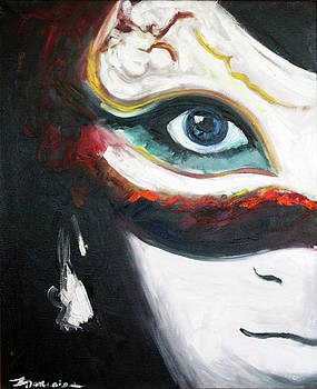 White Mask by Francoise Lynch