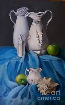 White Menagerie  by Patricia Lang